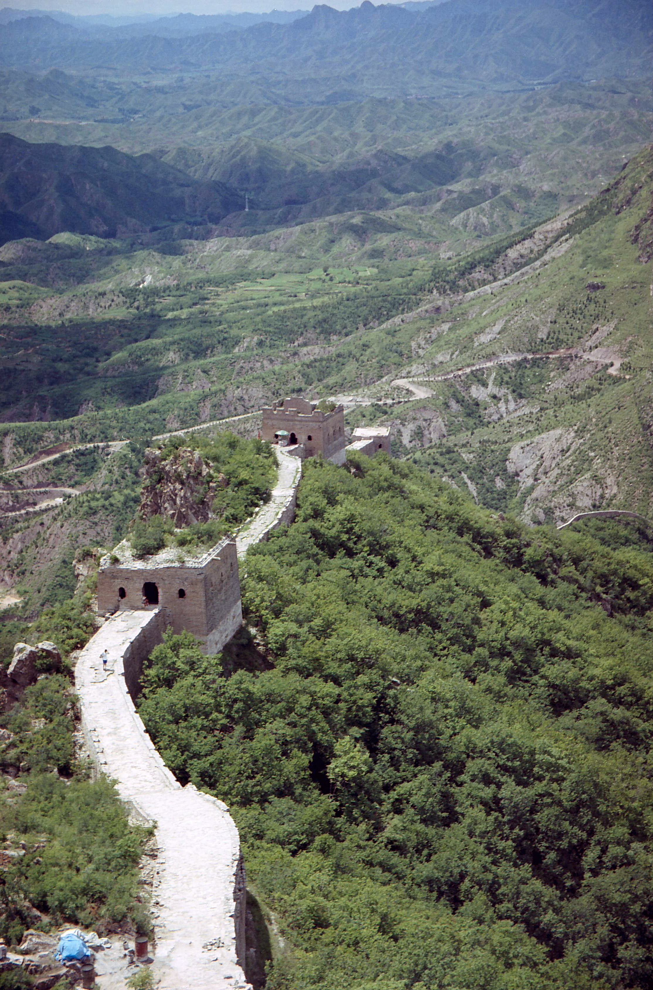 Great Wall of China, Beijing China 1.jpg - Great Wall of China