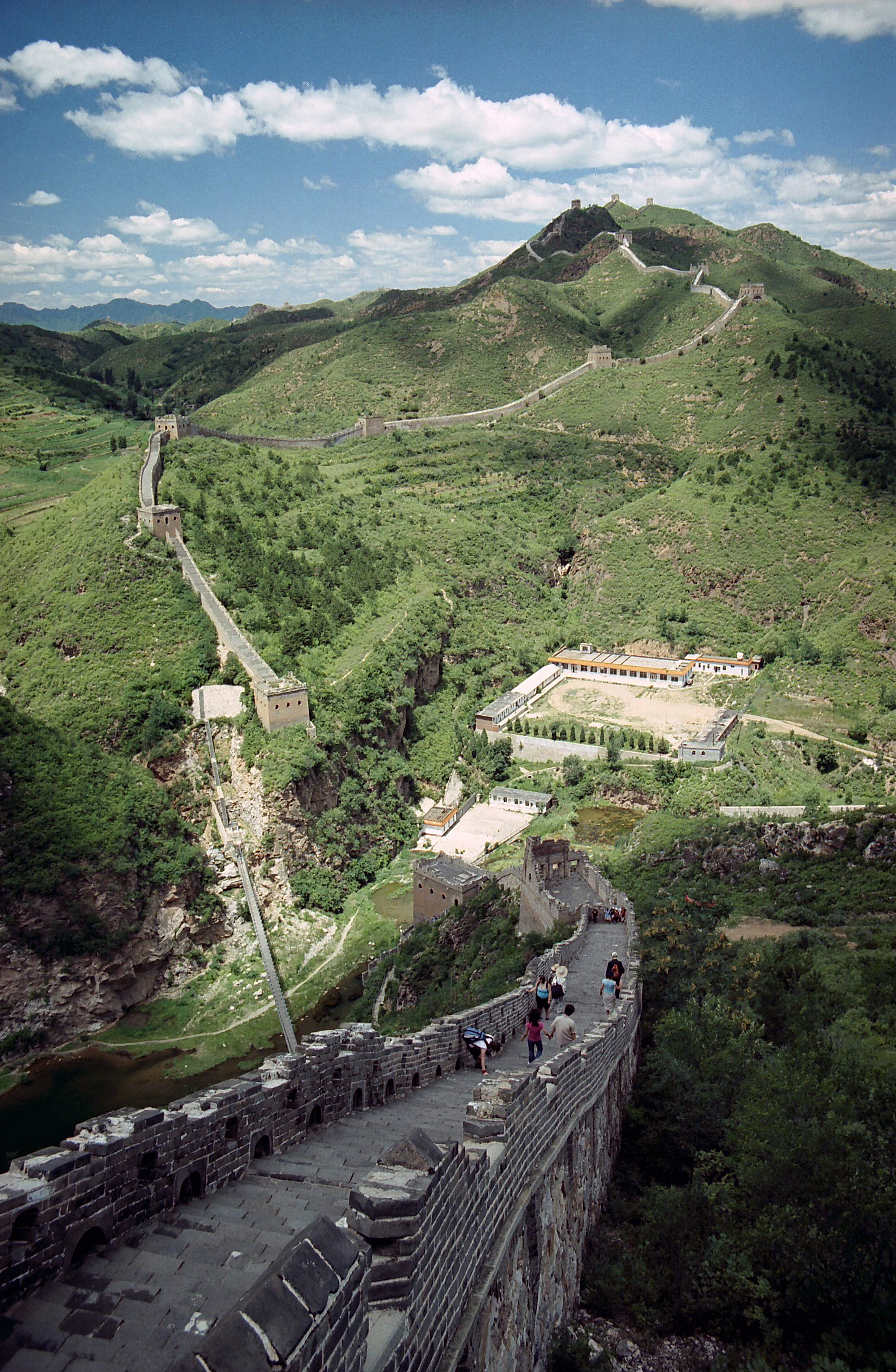 Great Wall of China, Beijing China 4.jpg - Great Wall of China