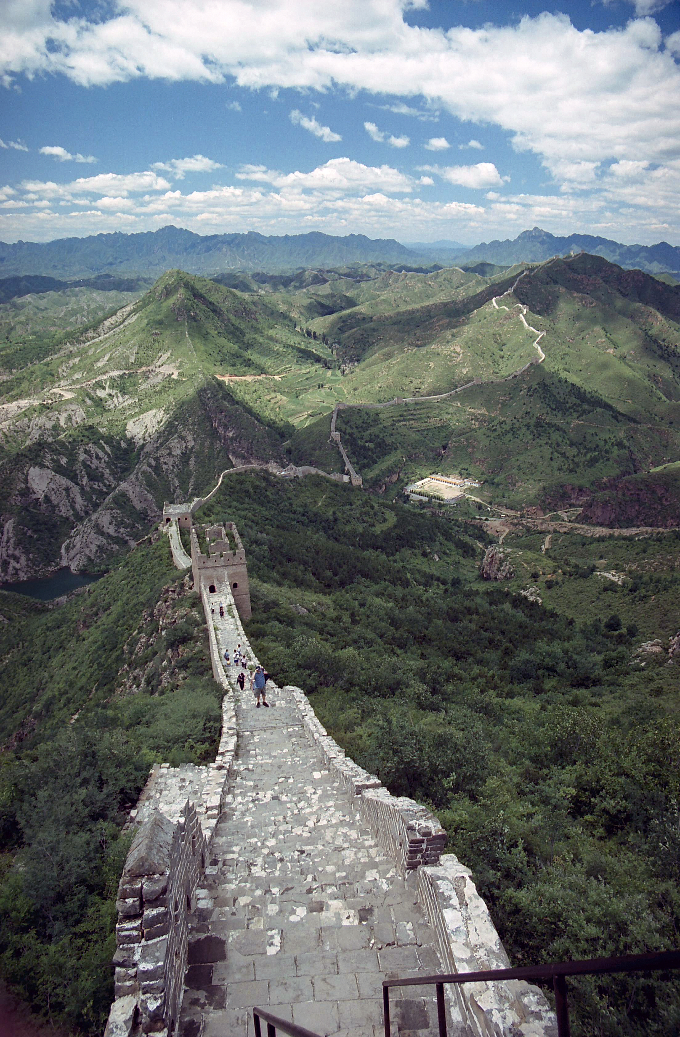 Great Wall of China, Beijing China 5.jpg - Great Wall of China