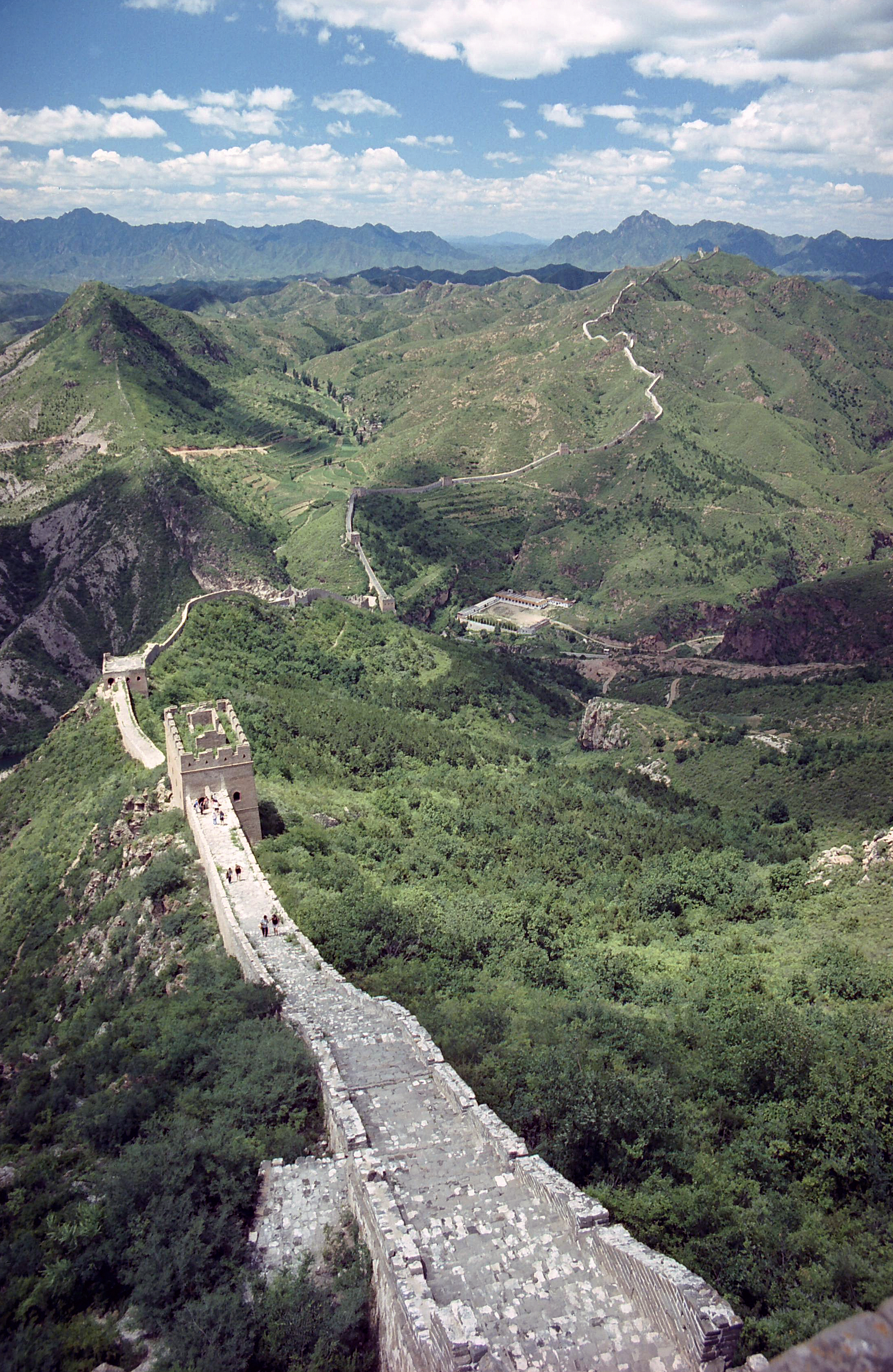 Great Wall of China, Beijing China 7.jpg - Great Wall of China