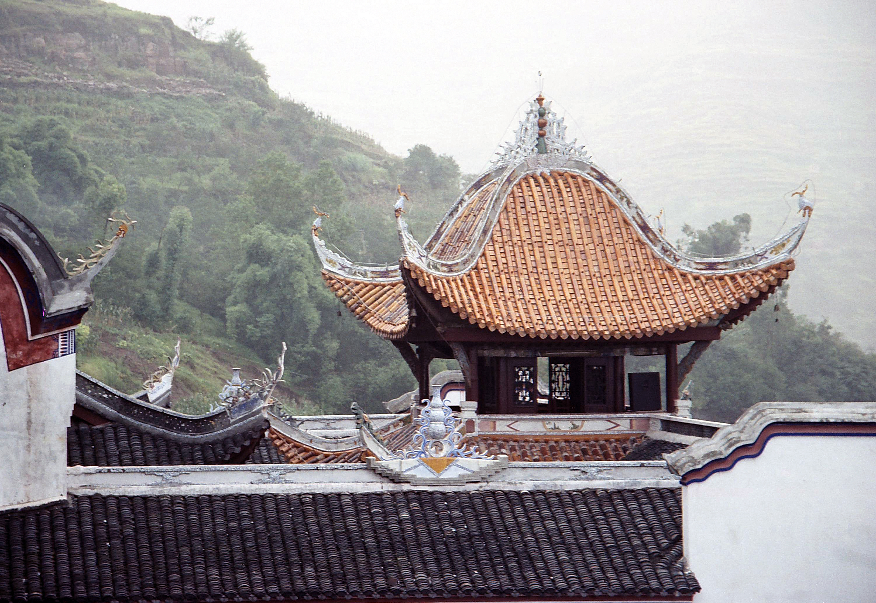 Zhang Fei temple, Hubei China 3.jpg - Zhang Fei temple