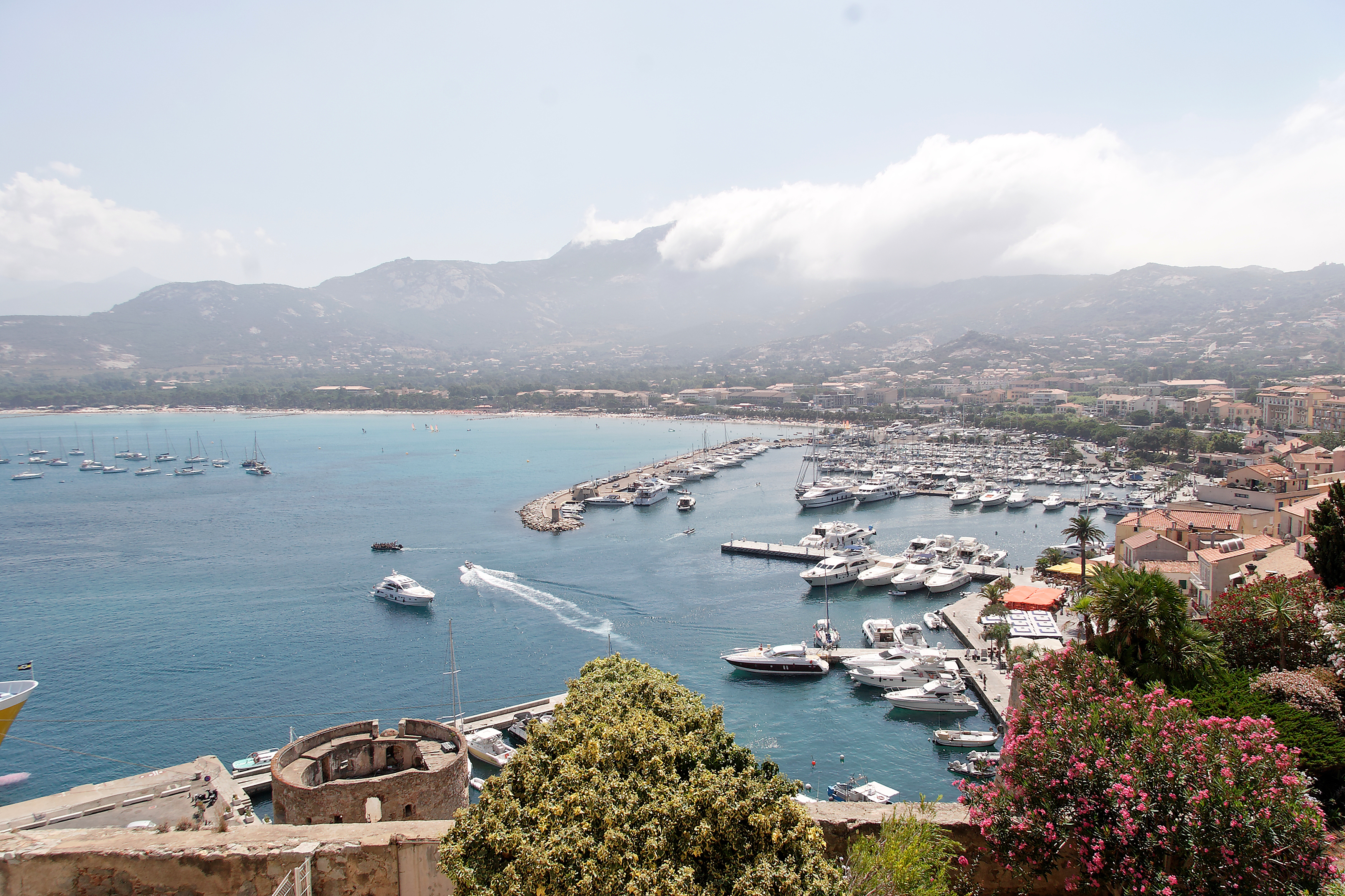 Calvi, view from the citadel, Corsica France.jpg