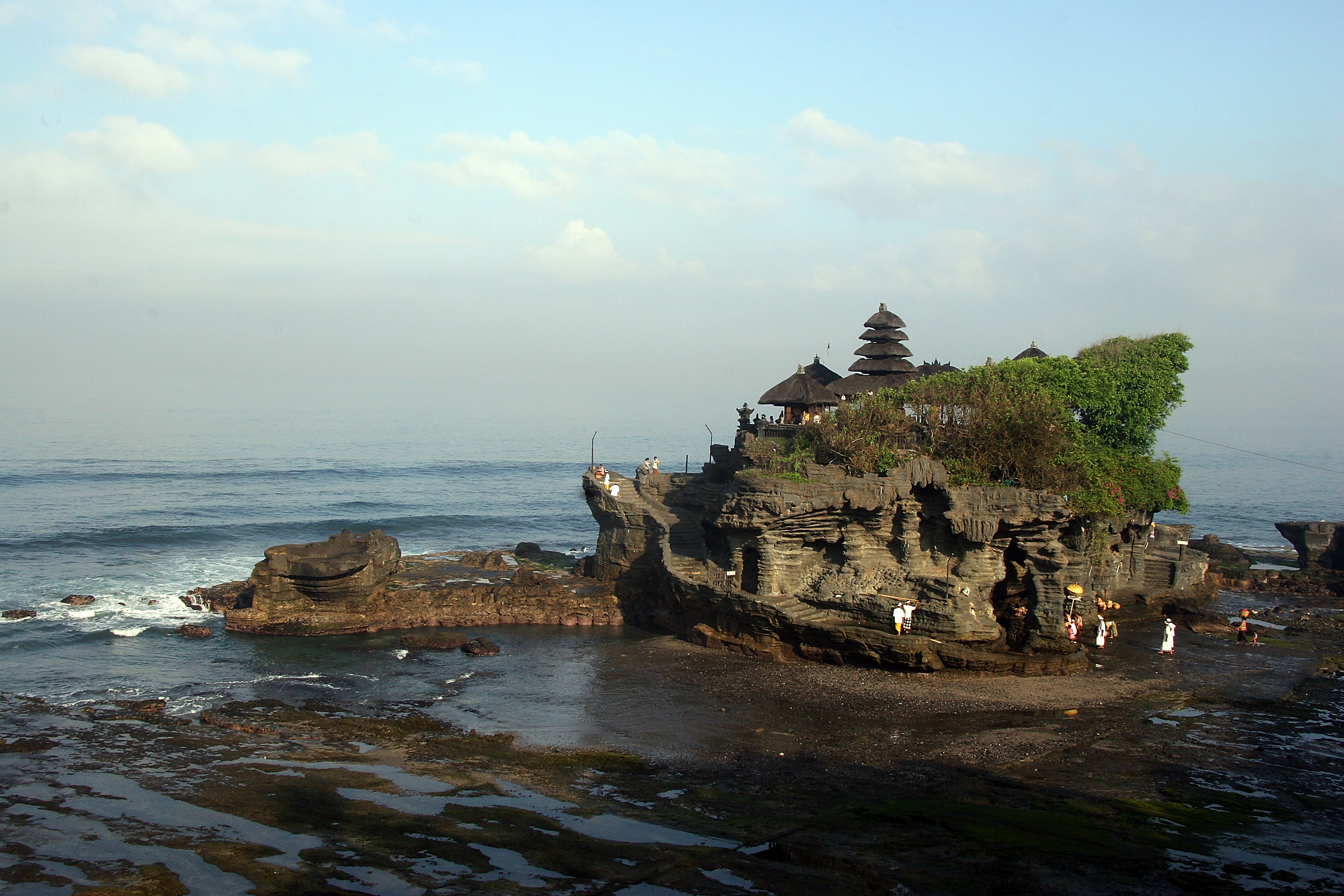 Tanahlot temple, Bali Indonesia 5.jpg - Indonesia Bali Tanahlot temple