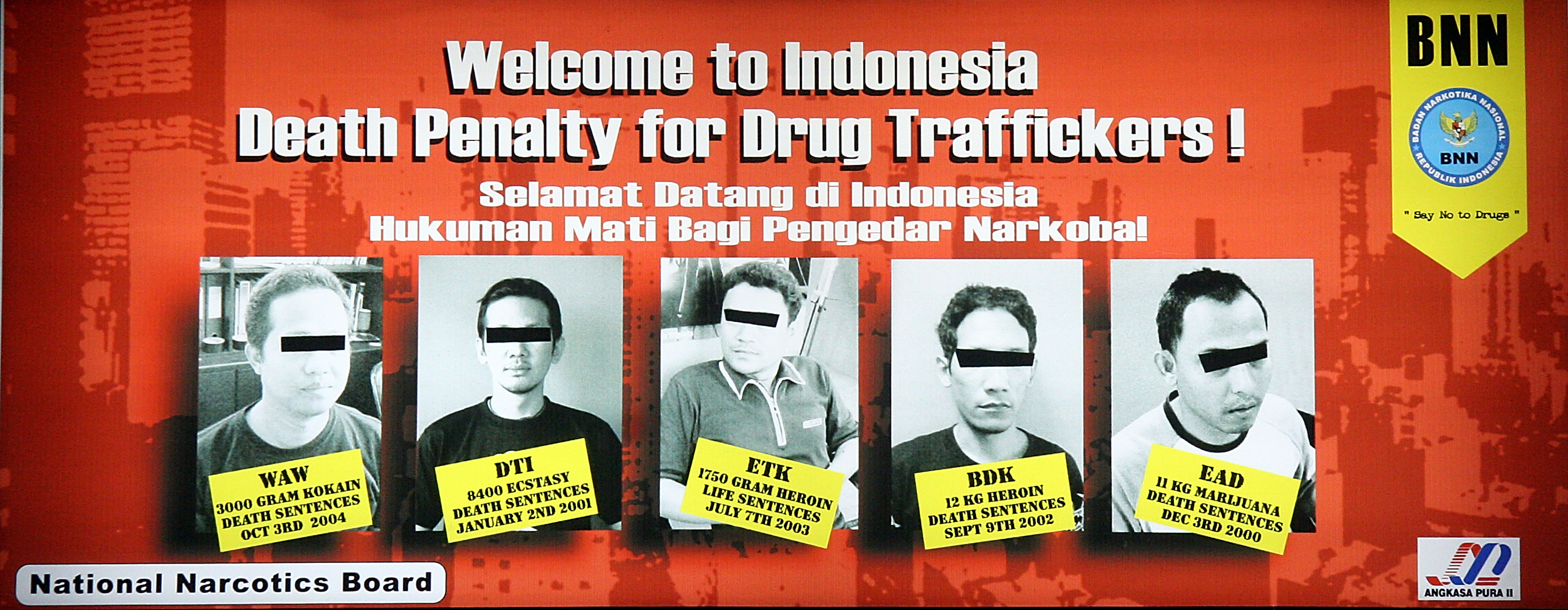 welcome poster, Airport Indonesia.jpg - Indonesia welcome poster