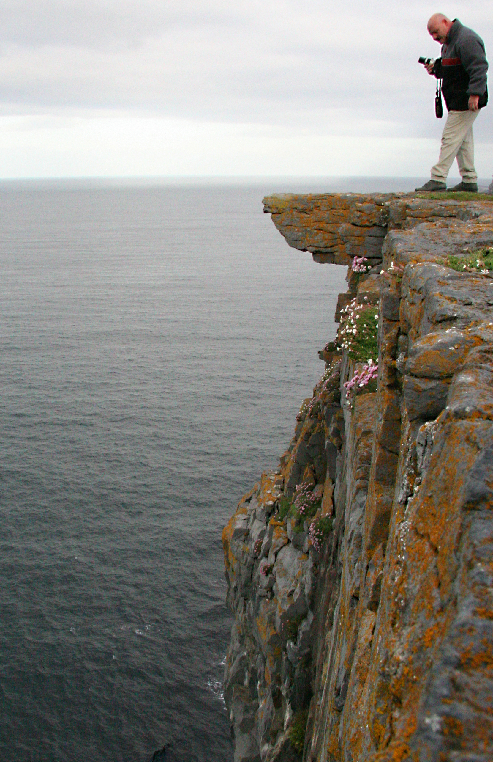 Cliff at celtic stone fort, Aran Islands Ireland.jpg