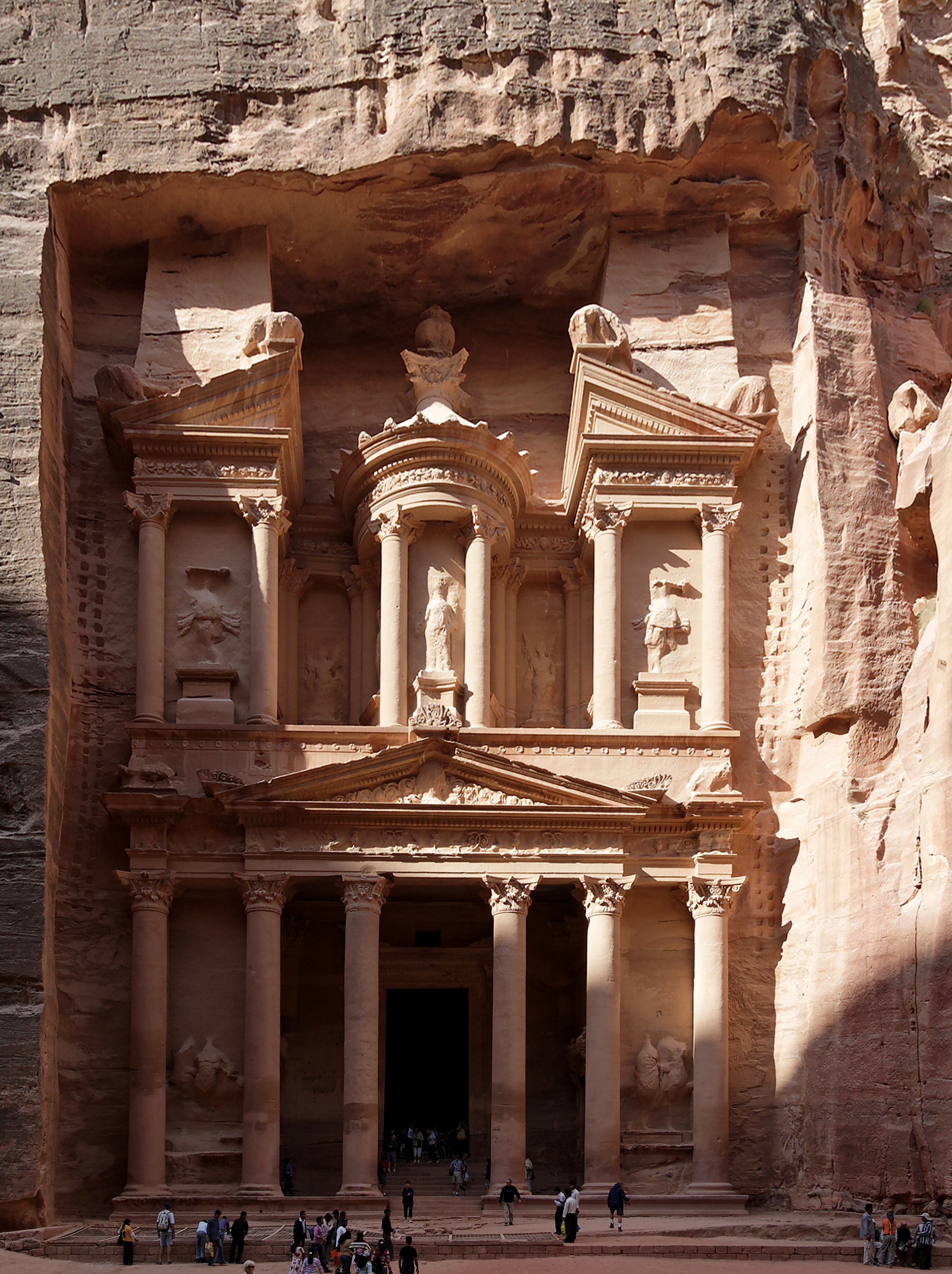 Treasury, Petra (Wadi Musa) Jordan 2.jpg - Treasury