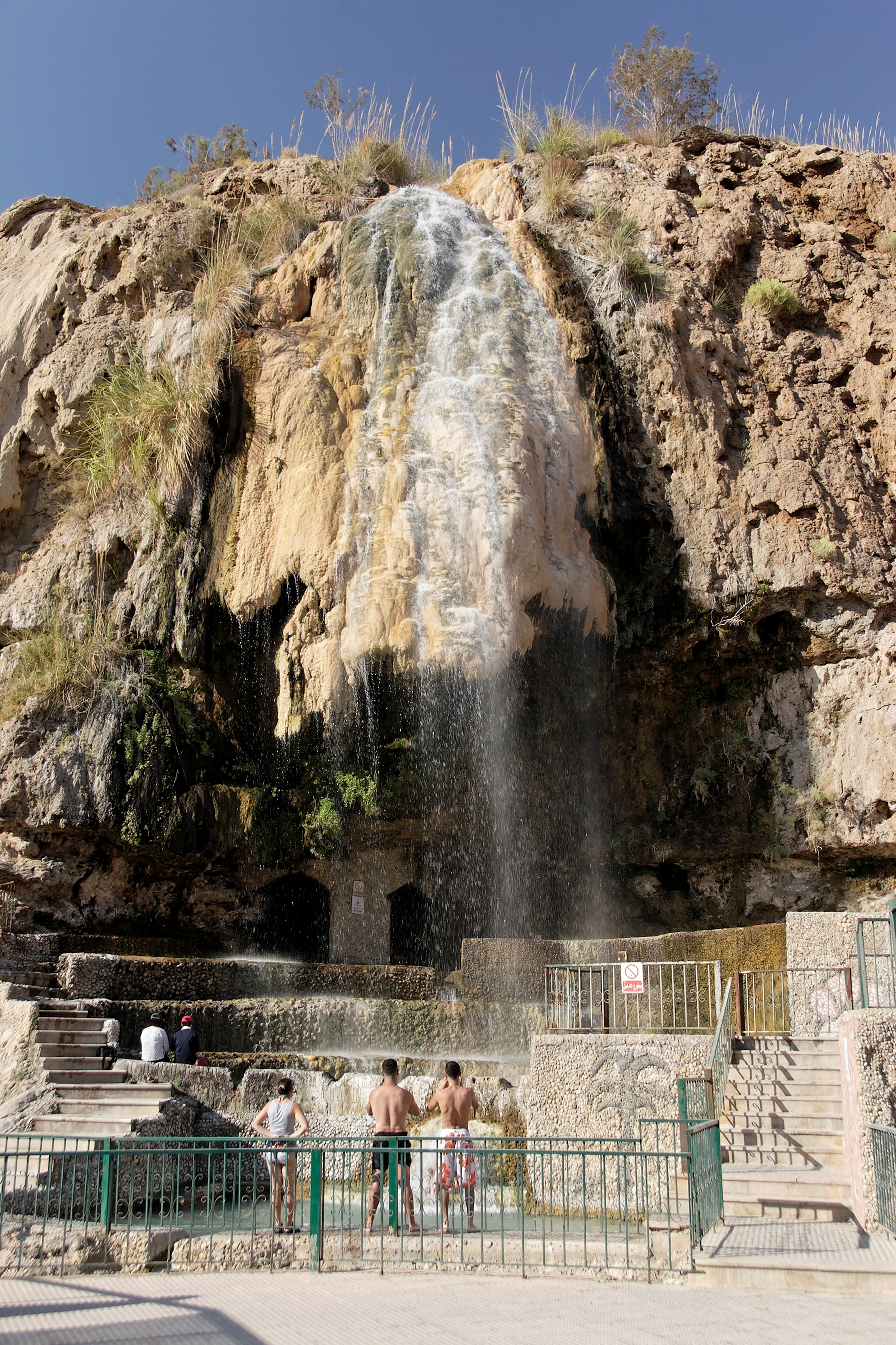 Waterfalls, Hammamat Ma'in Jordan.jpg - Waterfalls