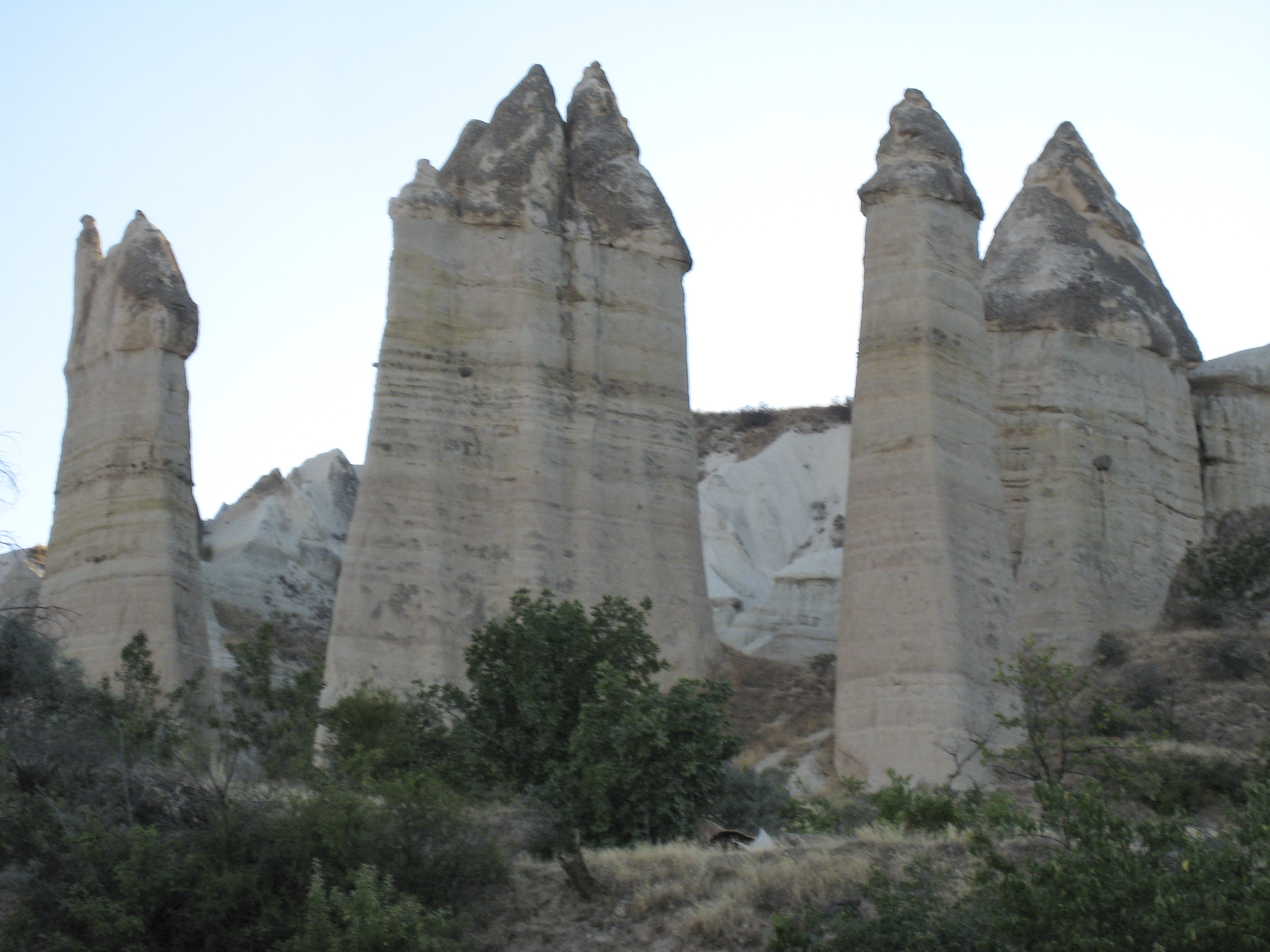 Fairy chimney rock formations, Goreme, Cappadocia Turkey 17.jpg - Goreme, Cappadocia, Turkey