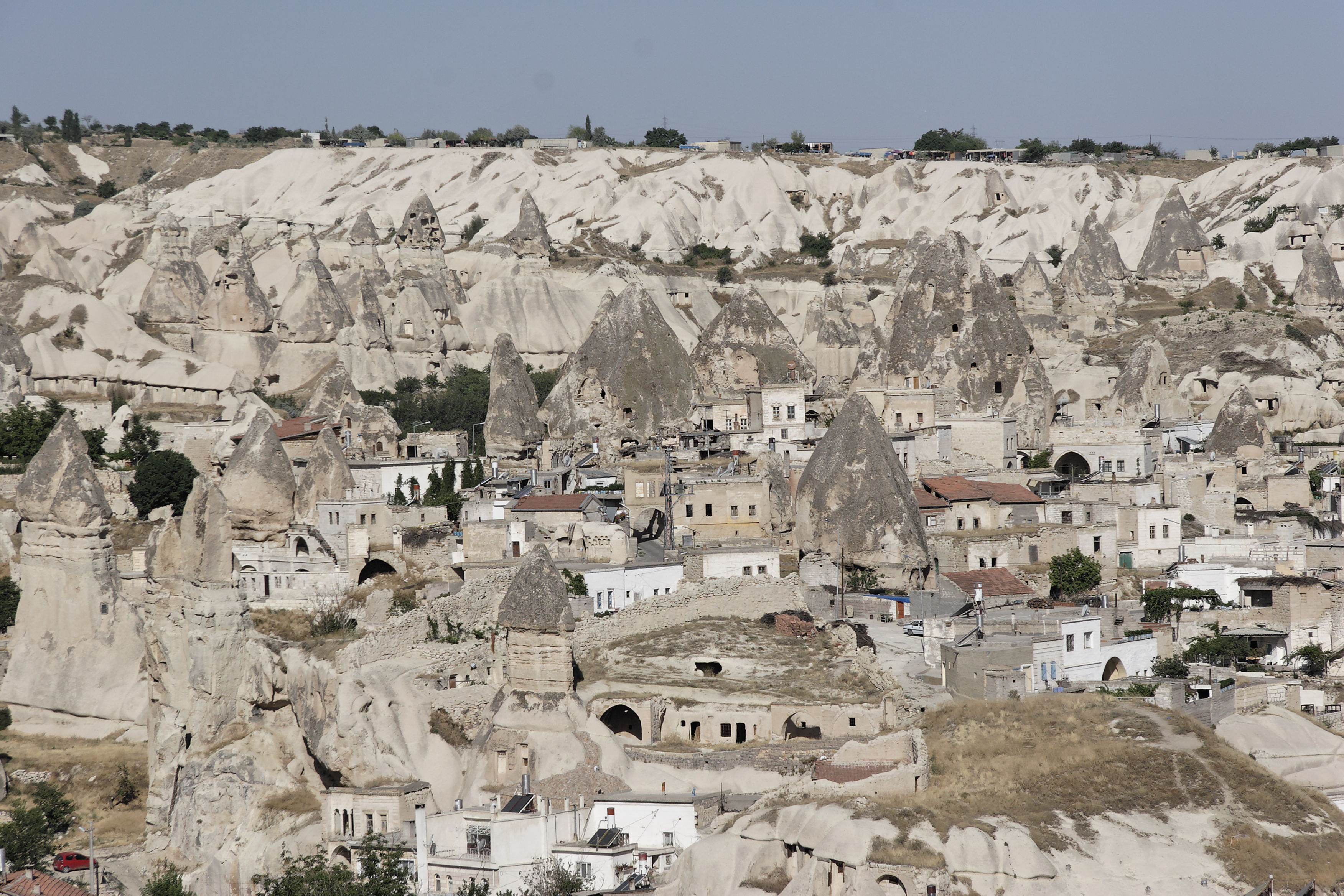 Fairy chimney rock formations, Goreme, Cappadocia Turkey 32.jpg - Goreme, Cappadocia, Turkey