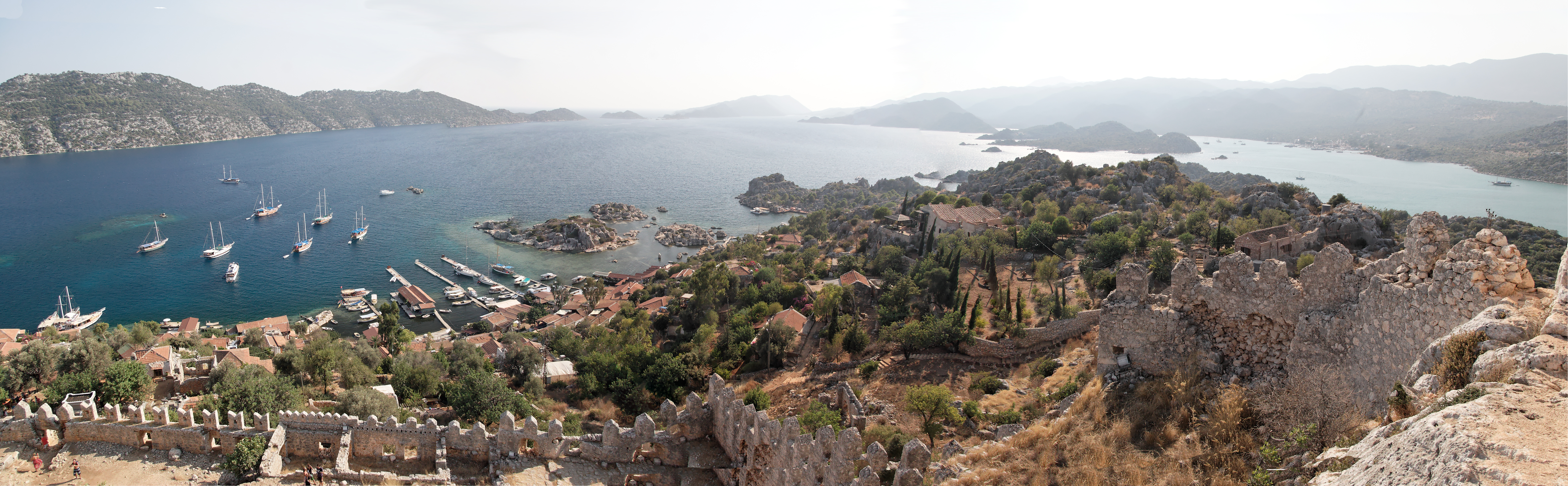 Panorama, Kayakoy Turkey.jpg