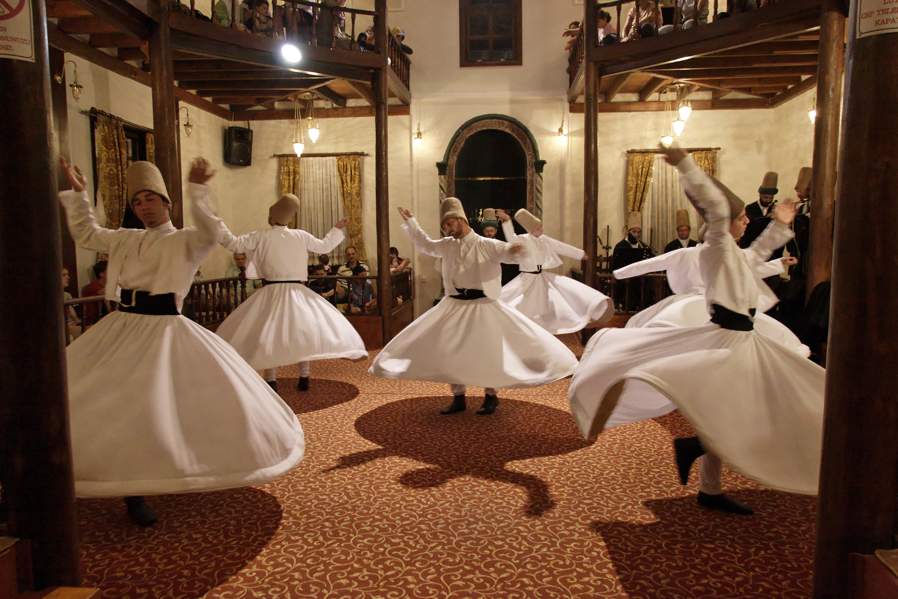 Whirling Dervishes, Bursa Turkey 5.jpg - Whirling Dervishes, Bursa, Turkey